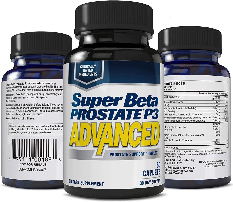 Super Beta Prostate P3 Advanced Prostate Supplement for ...