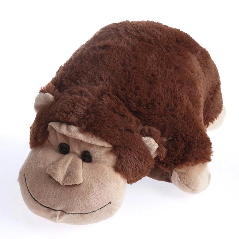 Monkey Stuffed Animal Pillow  Walmartcom