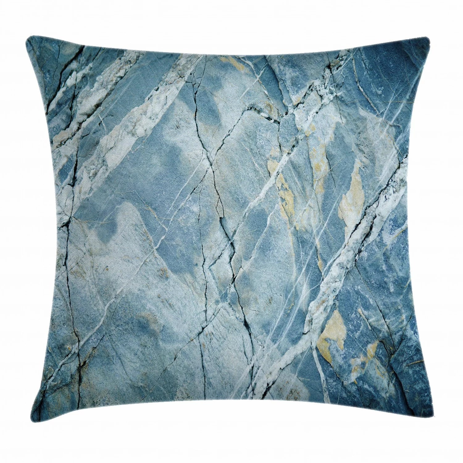 marble throw pillow cushion cover exquisite granite stone architecture floor artistic nature faded rock picture decorative square accent pillow