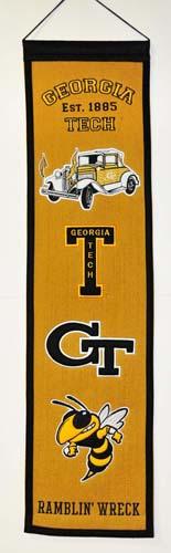 Georgia Tech Heritage Banner Walmartcom