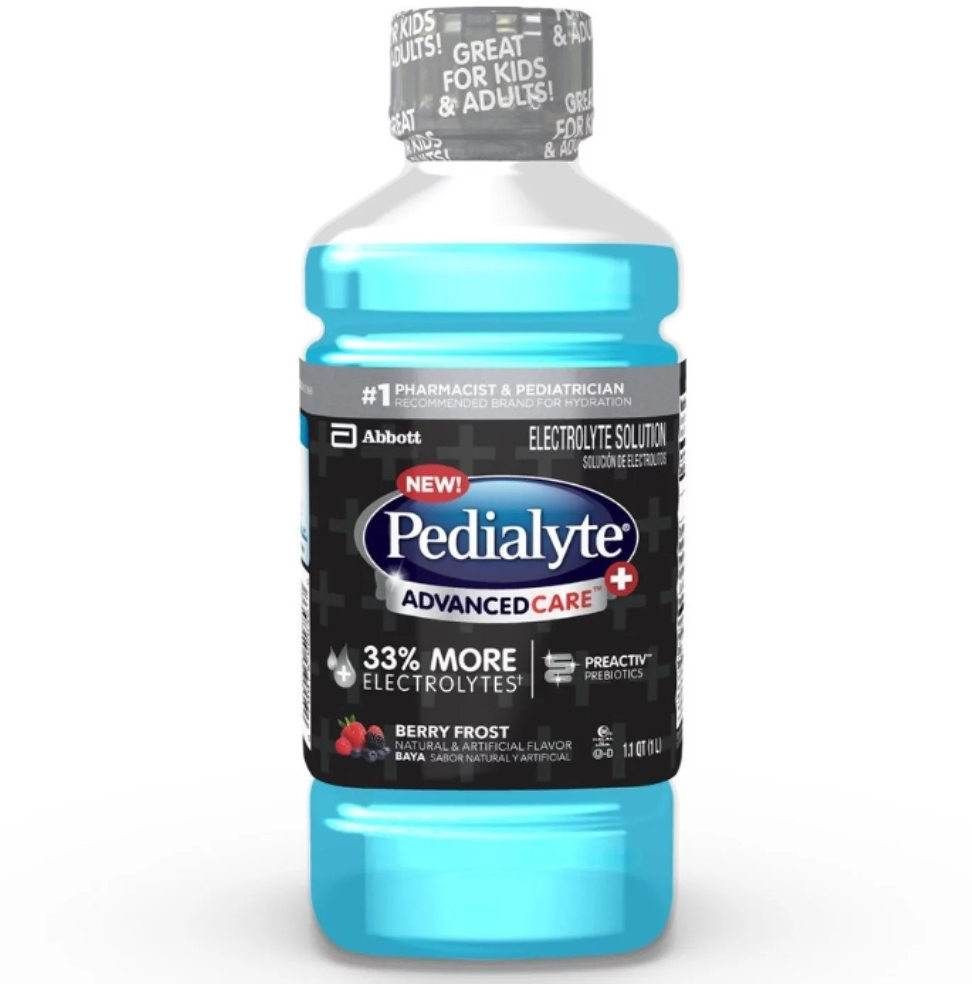 3 Pack - Pedialyte Advanced Care Plus Electrolyte Solution ...