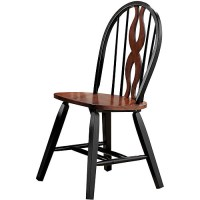Acme Furniture Chicago Ribbon Windsor Chair, Set of 4 ...