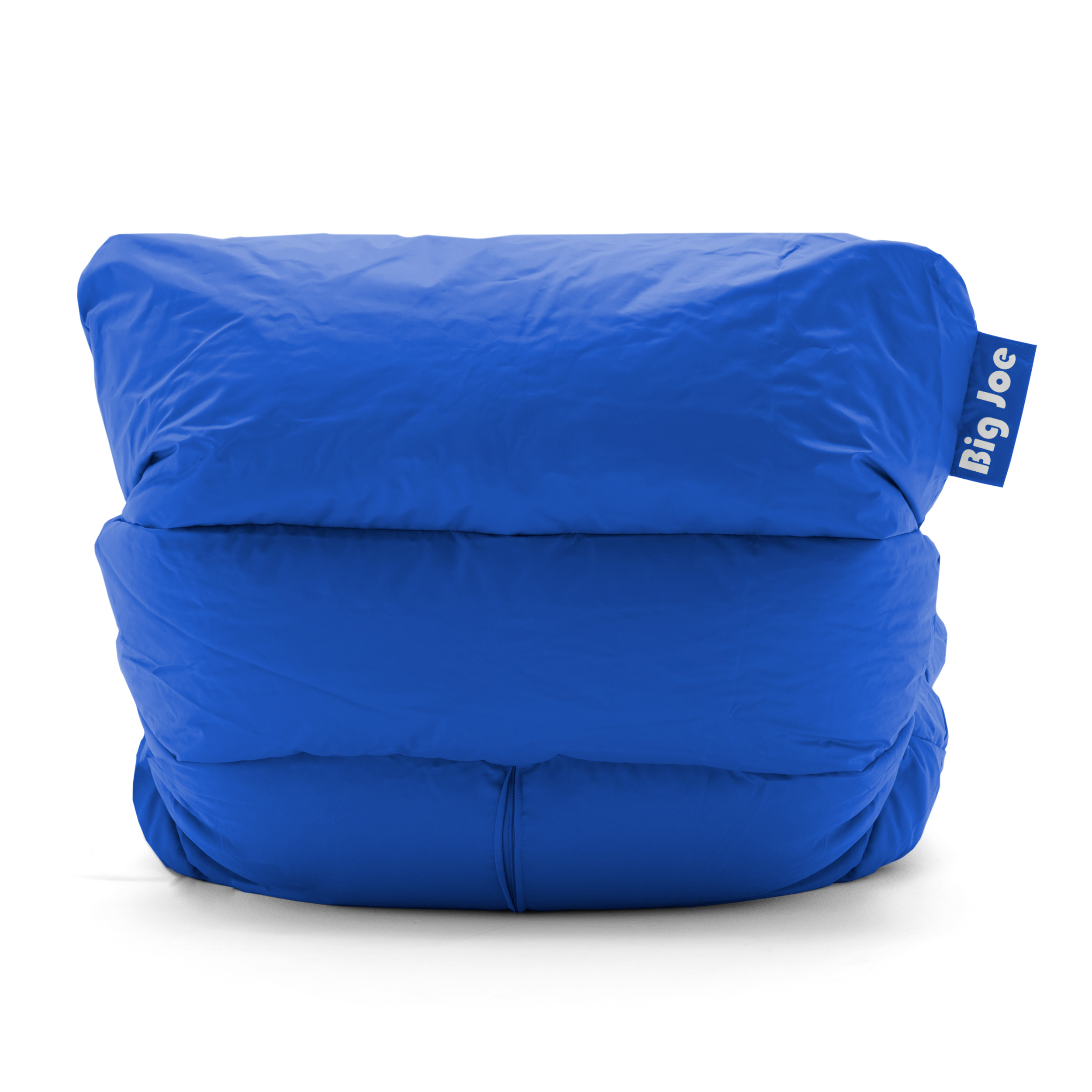 big joe roma floor chair ergonomic keyboard position bean bag sapphire color fabrics