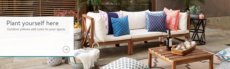 outdoor cushions walmart com