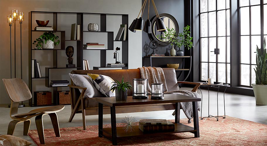 city furniture naples living room decorating ideas for open and kitchen walmart com understated cool industrial design has enduring appeal because it s easy to mix match