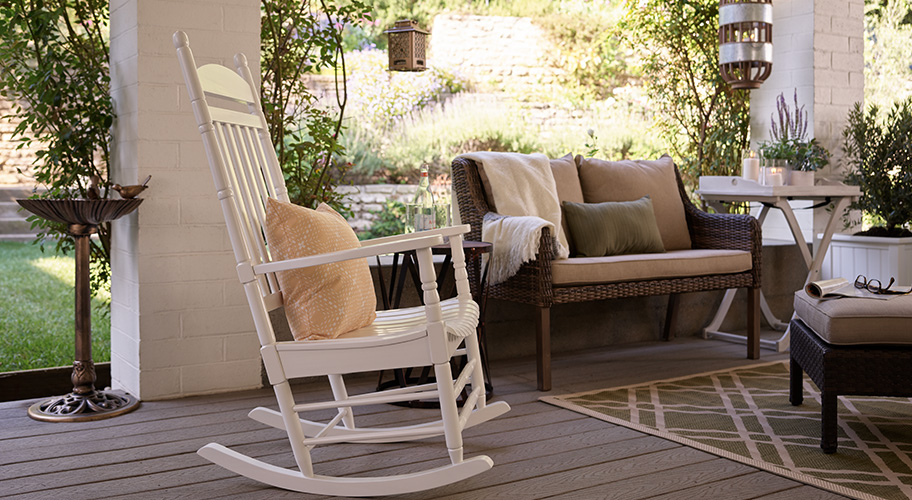 comfy outdoor chair hanging zippay patio furniture walmart com turn your front porch into the ultimate lounge with inviting benches