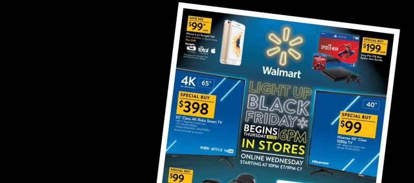 Walmart Black Friday Ad, Walmart Black Friday Deals, Walmart Black Friday Sales, Walmart Black Friday Paper of 2018