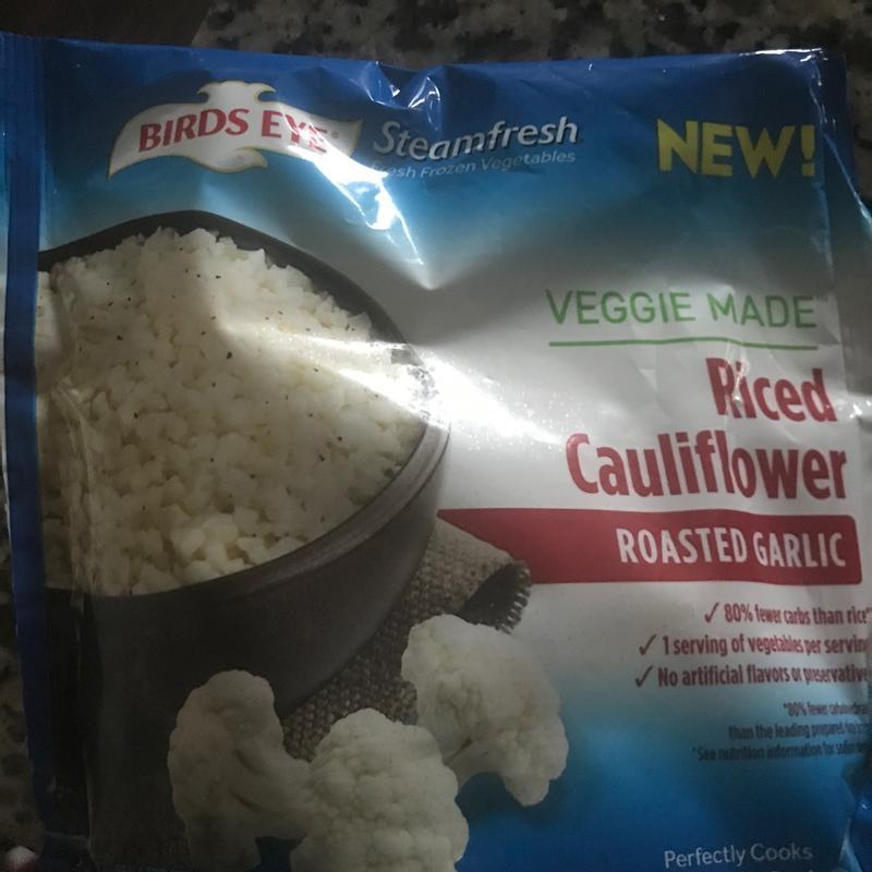birds eye veggie made riced cauliflower 10 oz