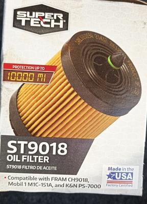 Oil Filter Lookup Walmart : filter, lookup, walmart, SuperTech, ST9018, Cartridge, Filter, Walmart.com