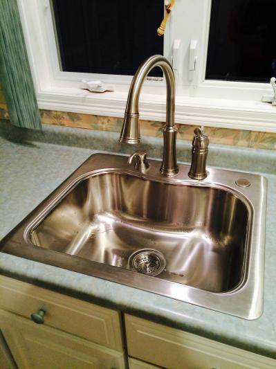 delta lakeview pull down kitchen faucet 59963 sssd dst