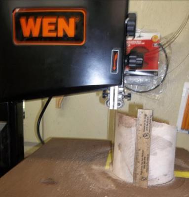 Bandsaw Bowl Cutting Jig