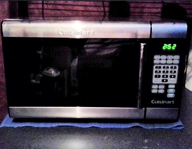 cuisinart microwaves stainless steel microwave
