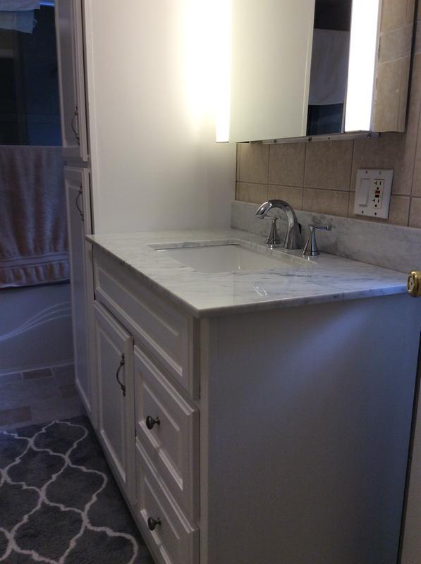 american standard chatfield 8 in widespread 2 handle bathroom faucet in legacy bronze