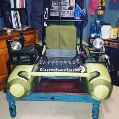 Chair Leg Fishing Floats Disney Cars Table And Set Classic Accessories Cumberland Float Tube Walmart Com