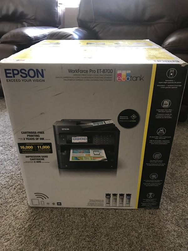 Epson ET-8700 | ET Series | All-In-Ones | Printers