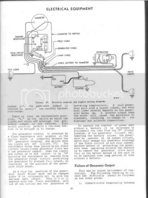 Farmall c Wiring diagram  Farmall & International