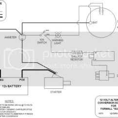 Farmall Super C 12 Volt Wiring Diagram Shovelhead Starter Schematic Conversion M All Data 1948 For