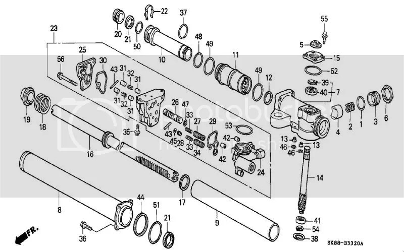 Service manual [2002 Acura Nsx Rack And Pinion Removal