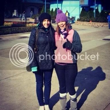 Mary & Rebecca at Cedar Point