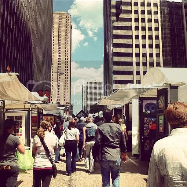 Street Fair in Chicago