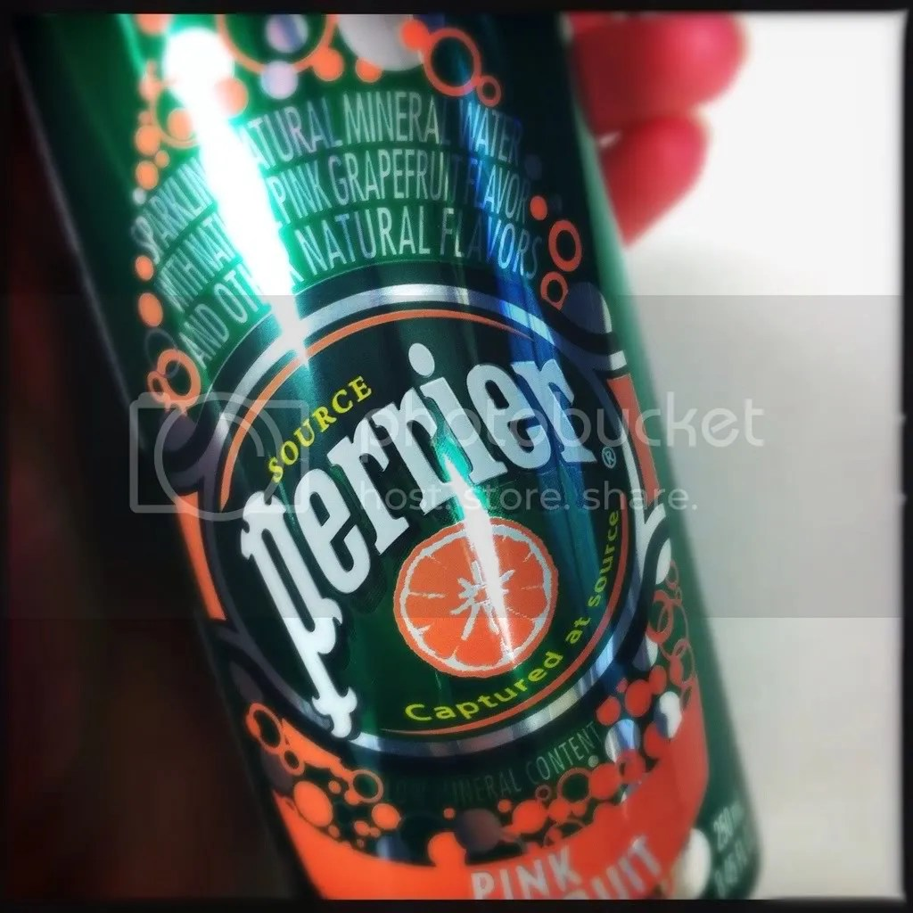 Pink Grapefruit Perrier