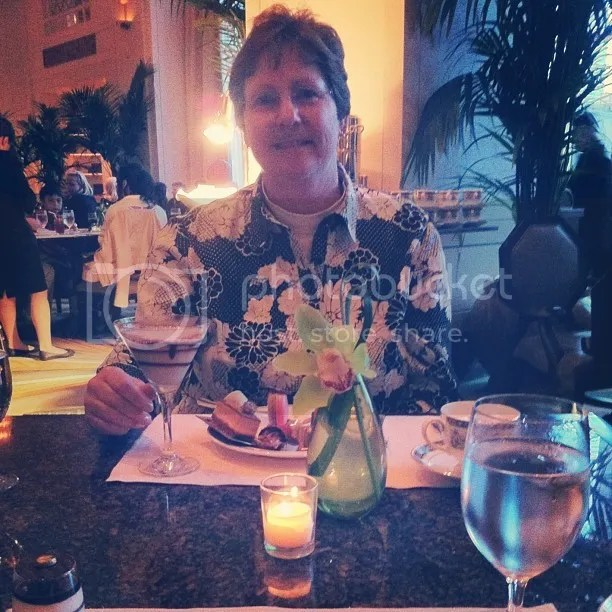 Mary's mom at The Peninsula
