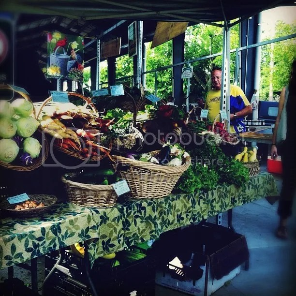 Food at the Farmers' Market