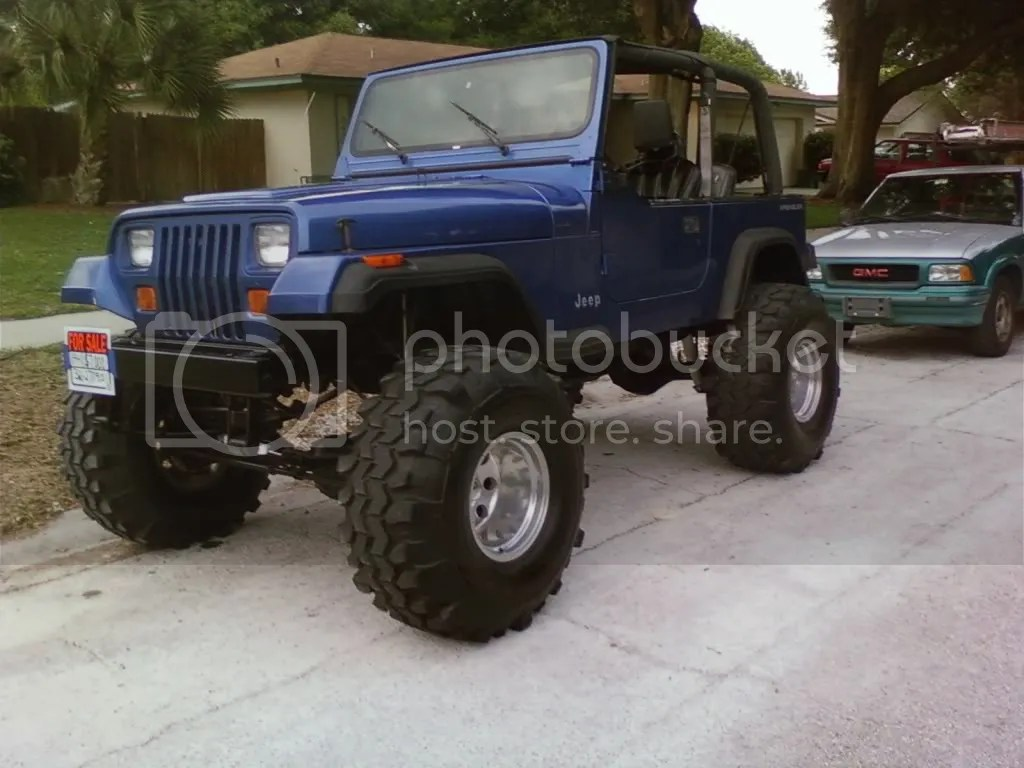 And Jeep 4 Lift 02 33 Tires Wrangler