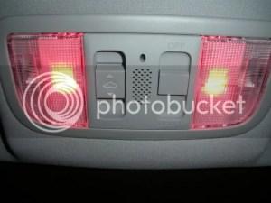 DIY : MapDome light LED's  HondaTech