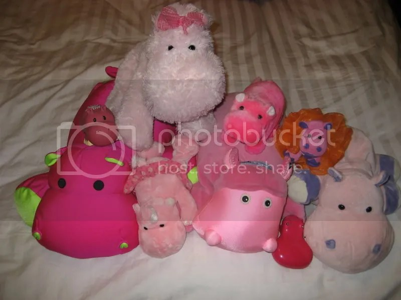 pink hippo collection