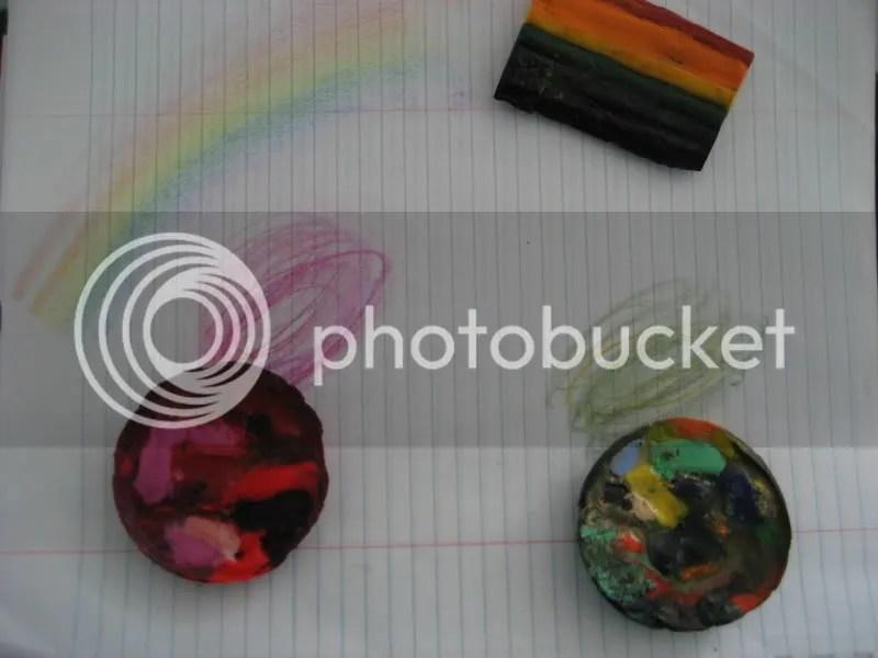 rainbow crayons!