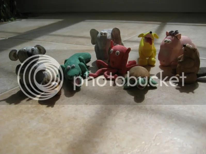 model magic critters