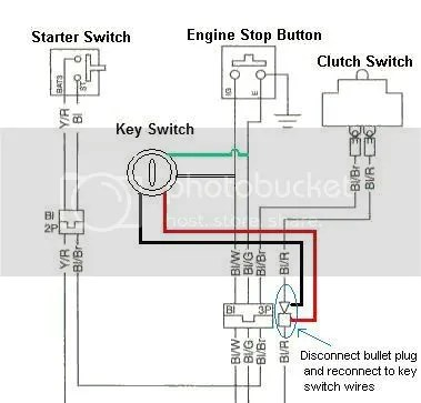 Key Switch Wiring Diagram For Honda Bf115, Key, Free