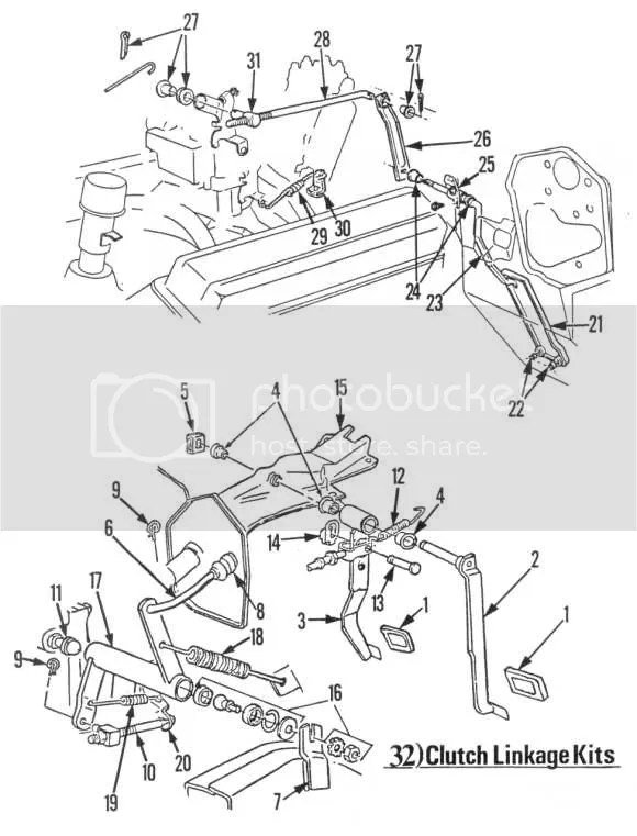 SOLVED: I need a diagram for clutch linkage for 1966 chevy