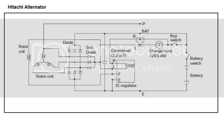 Yanmar Denso Alternator Wiring Diagram Starter Wiring