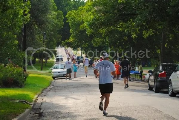 Photo from 2010 Historical Run