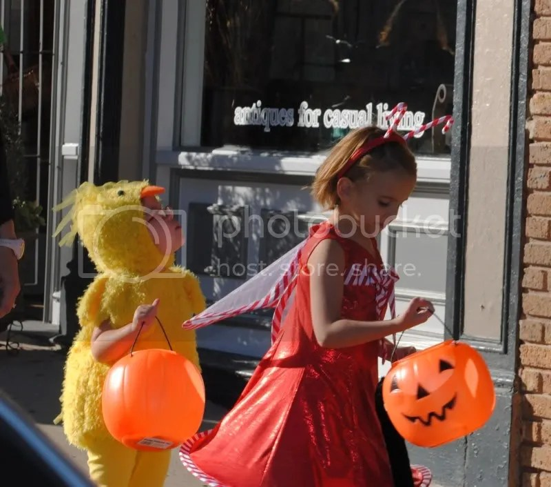 Children at Scare on the Square
