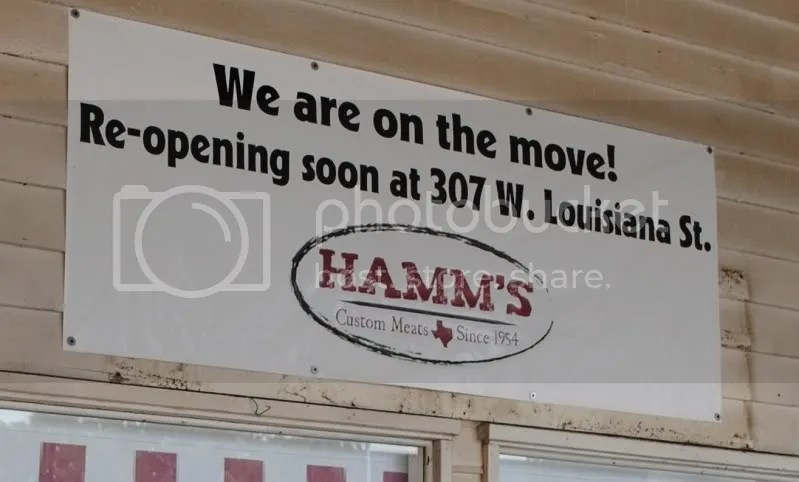 Hamm's Relocating