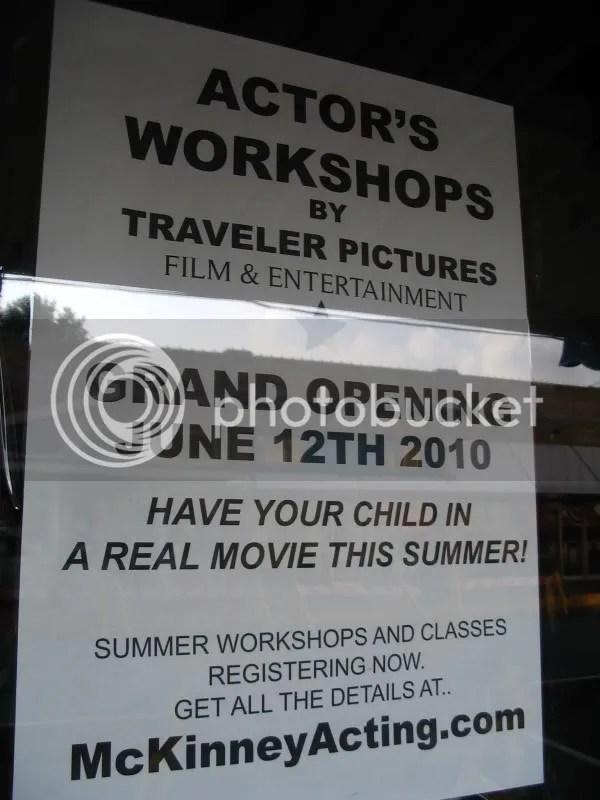 Actor Workshops