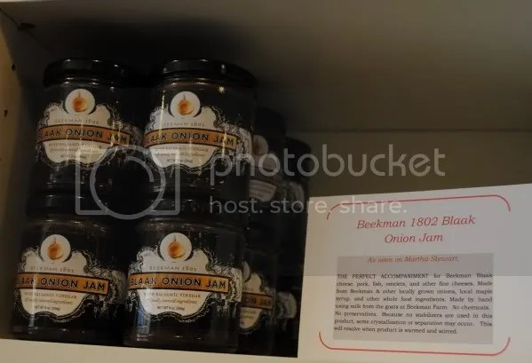 Beekman 1802 Blaack Onion Jam