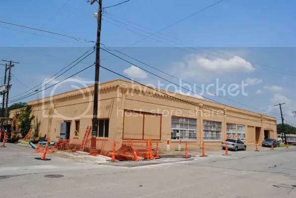Construction on Heard & Tennessee Streets