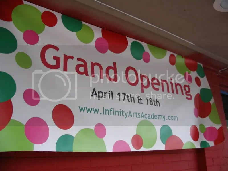 Grand Opening for Infinity Arts Academy