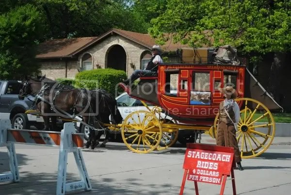 Stage Coach at Farmer's Market