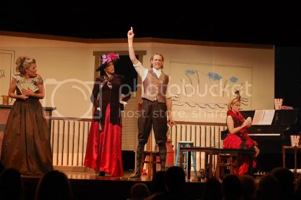 """""""Blame It On The Pony Express"""" by McKinney Repertory Theatre"""