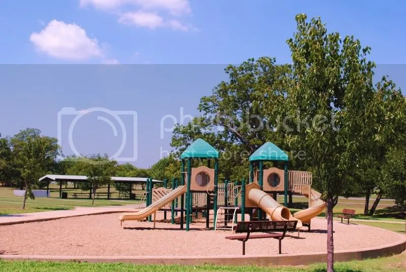 Play Area at Old Settler's Park