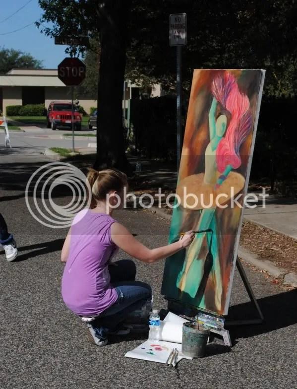 Artist at Chestnut Square