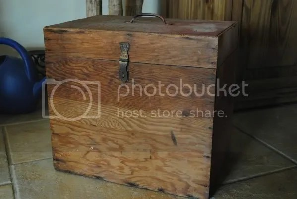 Wooden Box From Treasure Spotters