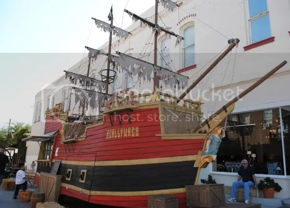 Pirate Ship on the Square