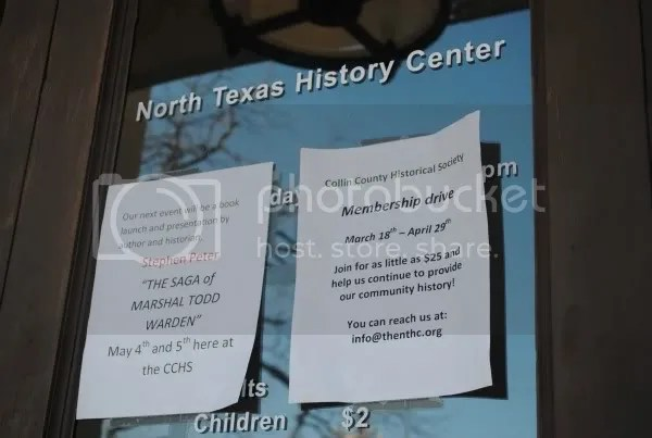 North Texas History Center Events