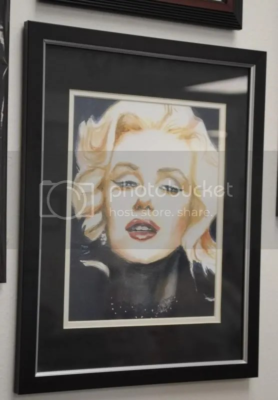 Marilyn by Marie Milligan